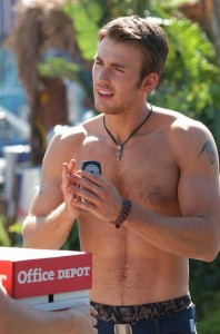 Chris Evans in Cellular