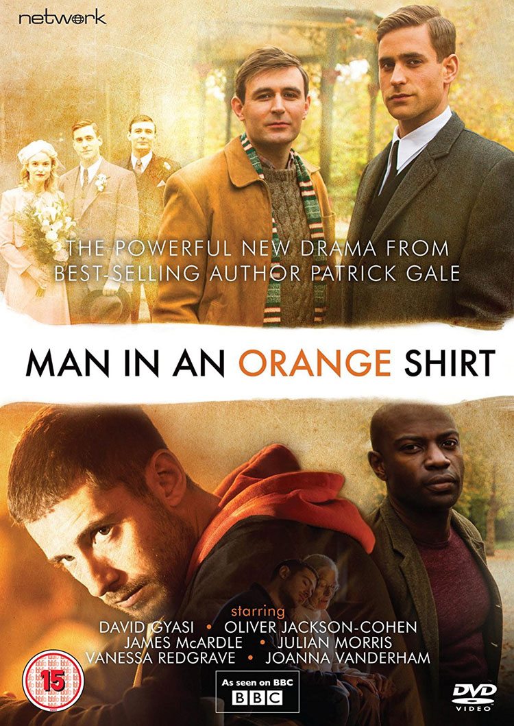 Man In An Orange Shirt (DVD Review) – Two gay lives, separated by 70 years